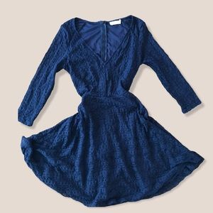 4/$20 Blue lace dress from Lush